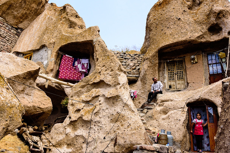 Troglodyte houses of Kandovan