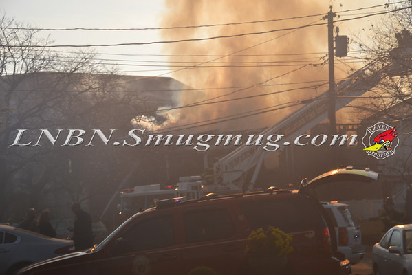 Bellmore F.D. House Fire 3145 Shore Road 11-12-12