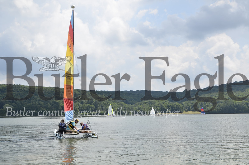 4 Column photo. The 2018 Regatta at Lake Arthur was the last under its old name and coordinator. The event, scheduled Aug/ 3 and 4, will be called the Regatta at Moraine State Park. FILE PHOTO
