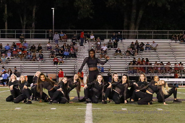 Dance Team at Marshall Football Game 9/27/19