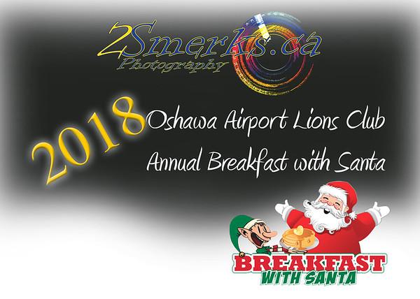 Oshawa Airport Lions Club - Annual Breakfast with Santa 2018