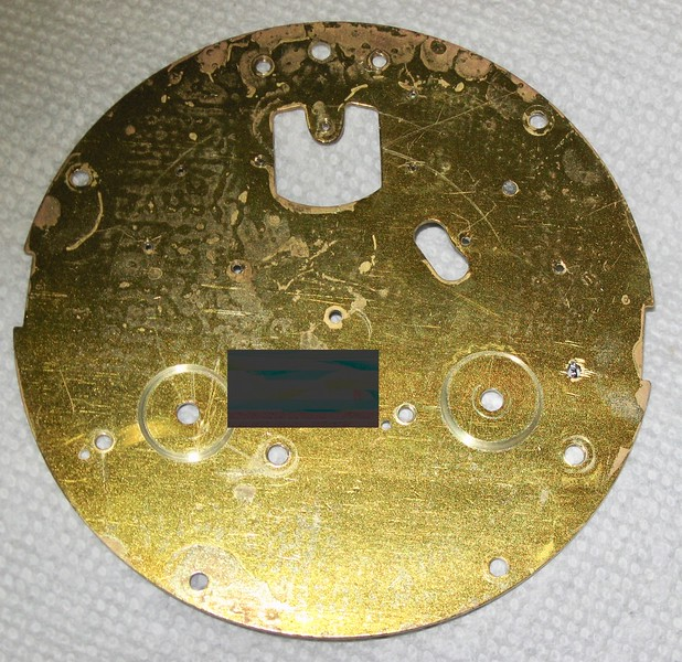 Inside bacl plate