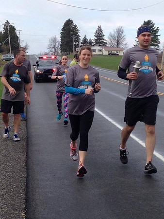 2014 St. Lawrence County Torch Run