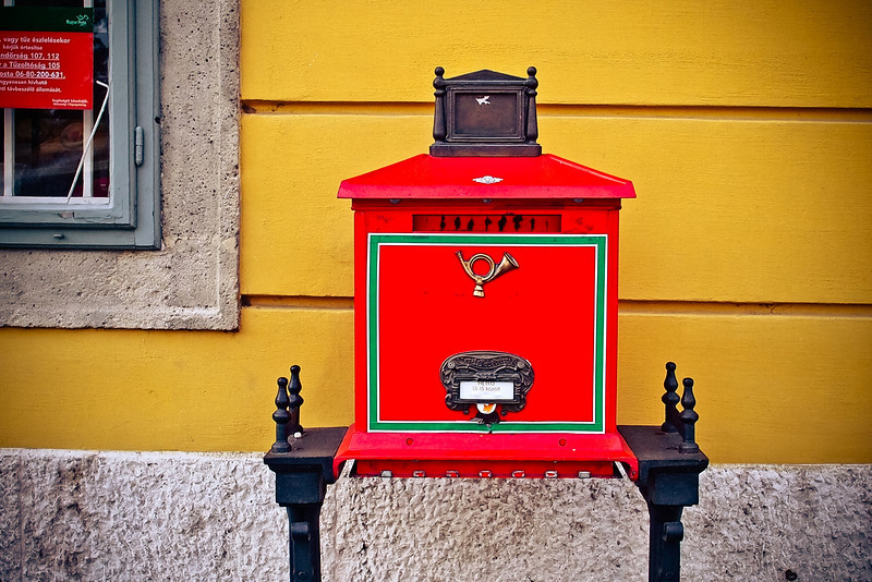 mailbox at Castle Hill