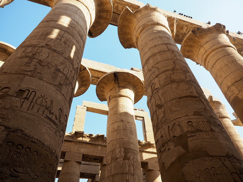 Hypostyle Hall at Karnak Temple