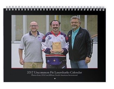 2017 Uncommon Fit Lasersharks Calendar (photos from LASNAI2016)