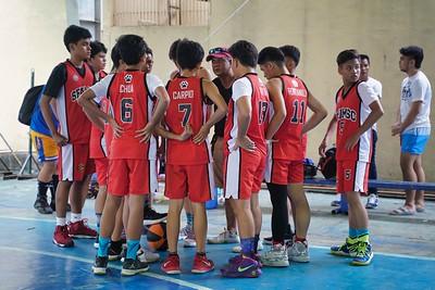 JHS basketball 2018 SFAMSC vs GHS 2018-2019
