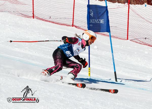 2017-03-17 Ladies Giant Slalom Run 1