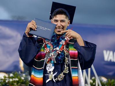 Graduating falcons soar at Vacaville Christian High School graduation
