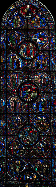 Chartres Cathedral, The Story of Saint-Lubin