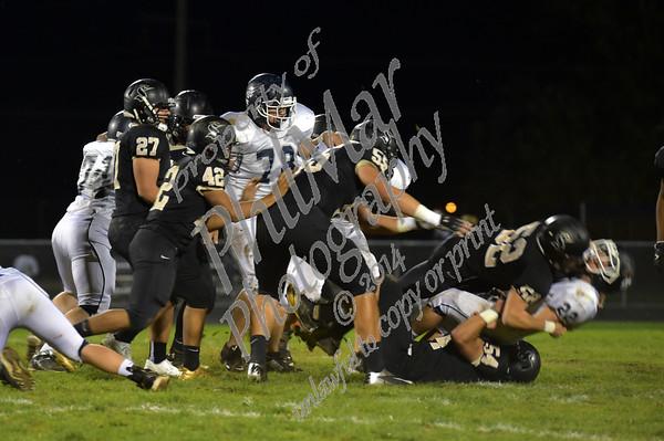 Berks Catholic vs Kutztown High School Senior Night 2014