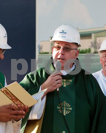 St. Cletus in La Grange breaks ground on new parish center