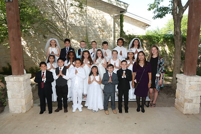 180428 5:00 PM Mass First Communion