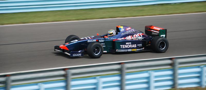 Michel Gensini / 1999 Lola Formula 3000 Photo by Dan Freudenburg