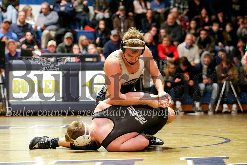 Butler vs Pine Richland Wrestling