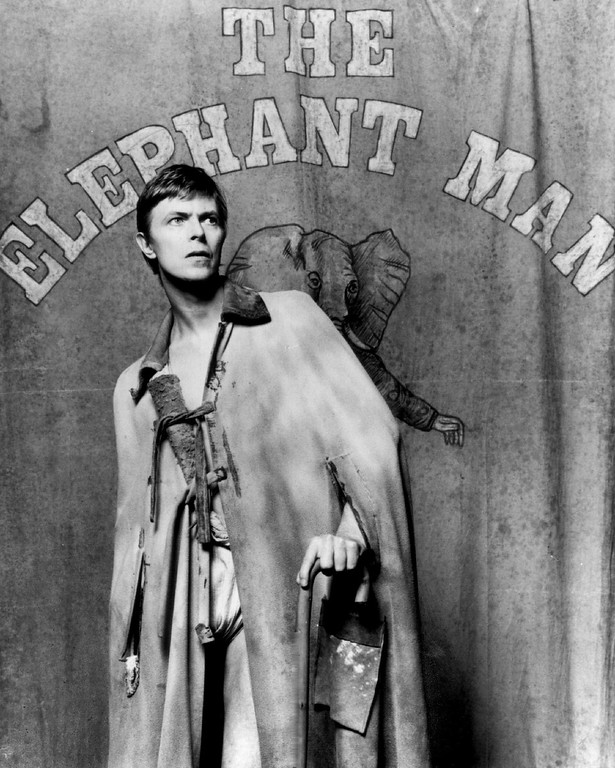 . SEP 14 1980  Bowie, David - Ind - Actor in Elephant Man