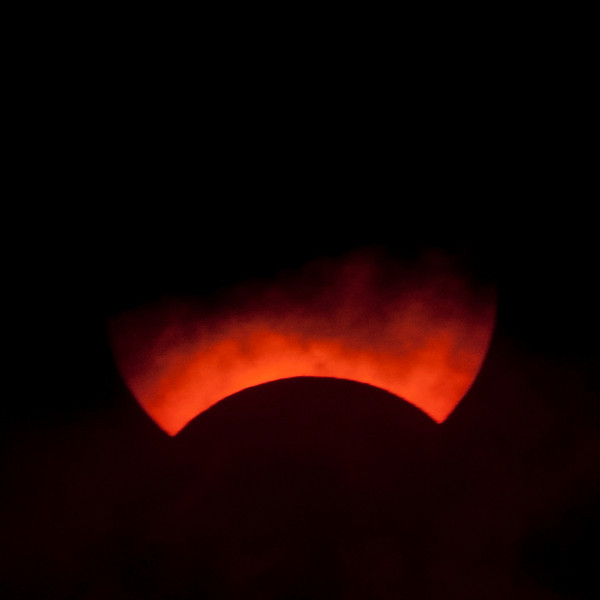Solar Eclipse May 2013 - Obscured by Clouds