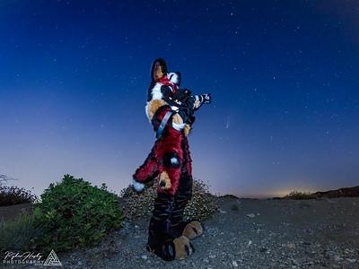 Ryatt - Comet Neowise Photoshoot