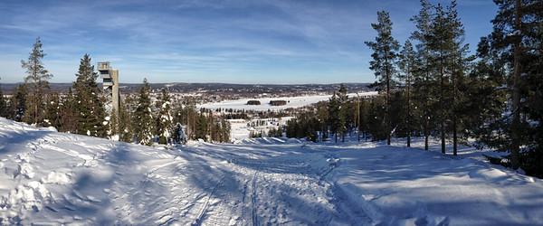 Looking Out from Ounasvaara