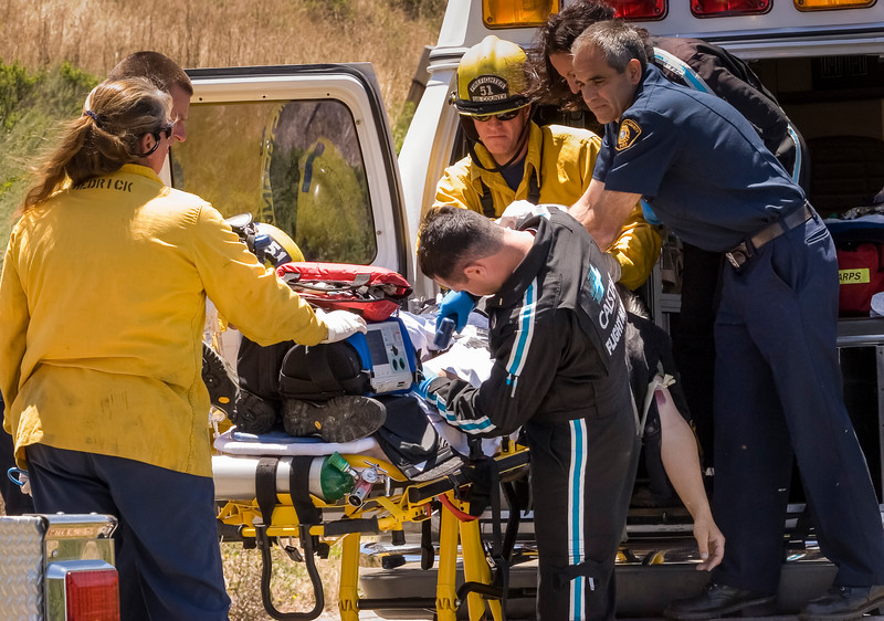 Motorcycle Crash Victim