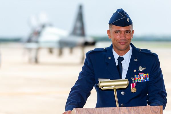 "Lt Col James ""Leven"" Miller's Retirement"