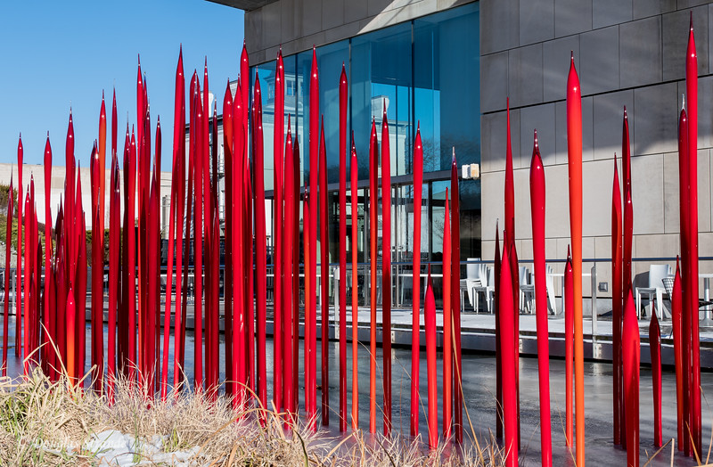 Outdoor Chihuly Sculpture