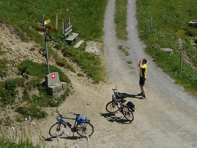 Juli 2010: Velotour m. Richi, Giswil - Sattel_Flüeli - Hilferen Pass - Wiggen