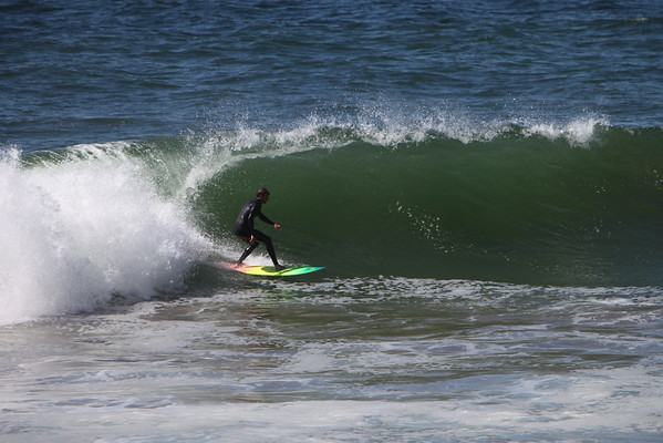 Surfing in Pacifica - Wednesday September 17th, 2014