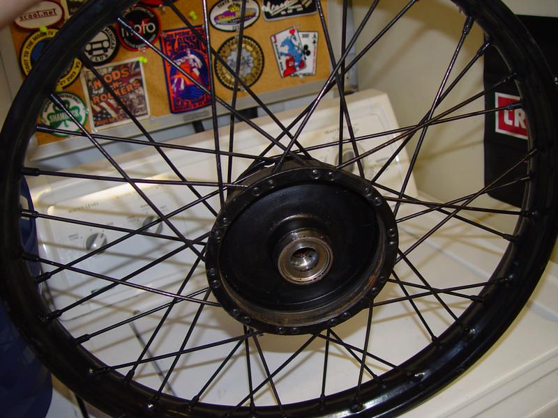 rear wheel right side