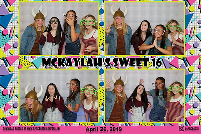 McKaylah's Sweet 16