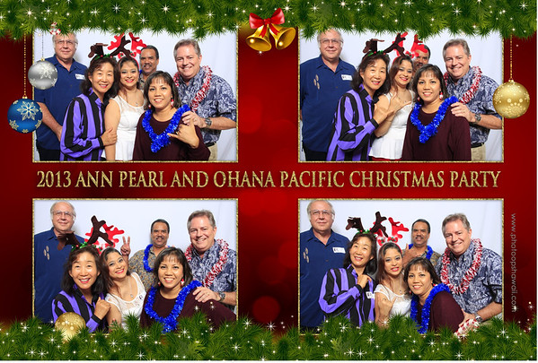 Ann Pearl and Ohana Pacific Christmas Party 2013 (Fusion Portraits)