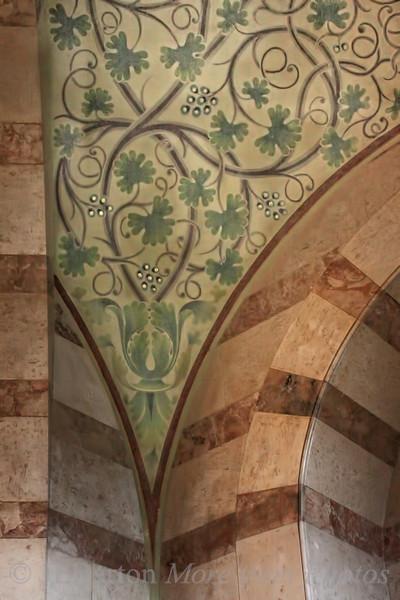 Detail - Franz von Asissi church in Vienna's 2nd district
