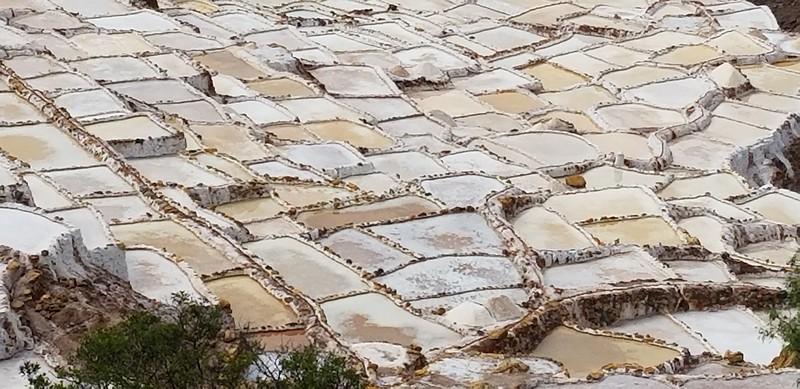View of the Maras Salt Mines