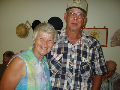 Uncle Raymond and Aunt Peggy