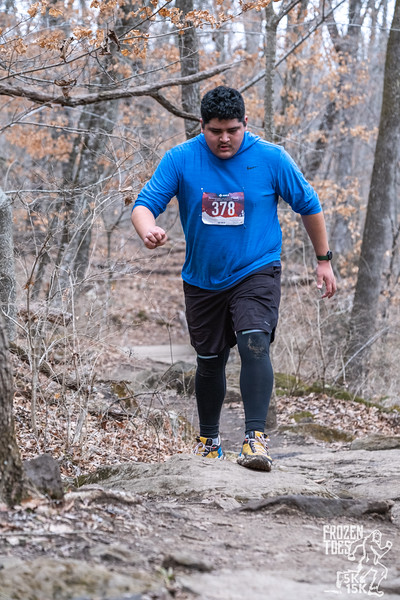 Frozen Toes 5k and 15k brought runners out to Mount Kessler for Fayetteville's first race of the new year, and giving hope for more to come in 2021.