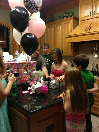 May 2013 - Averi's 18th Birthday