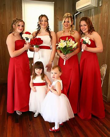 Amber & Bridesmaids