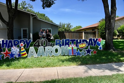 7-12-2020 Aaron White's 40th Birthday Drive by