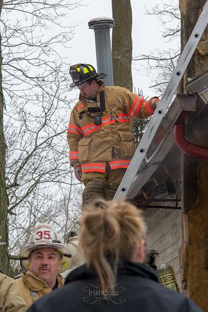 S Bonsall Rd - Working Fire