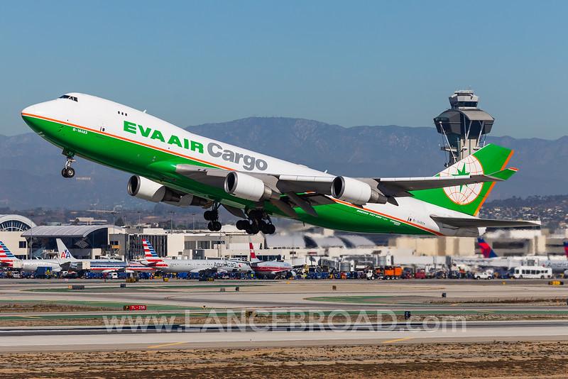 Eva Air Cargo 747-400 - B-16483 - LAX