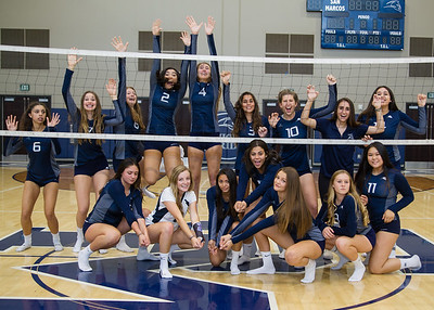 San Marcos Knights Volleyball 2017