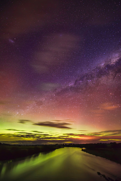 The Night of the Aurora I think these happen a lot down here in New Zealand! I'm hardly an expert though… I'm very last-minute about all these things and only know about them once they start happening. Some people are real aurora experts and track them like storms. There are websites, apps, and all sorts of things. I gotta get my act together so I can plan for these events better. I was having so much fun with the landscape orientation… but then I decided to go vertical for a few shots, and I am glad I did! When I show people these photos without any explanation, they never ever ask me what that yellow-green light is in the lower part. I don't know if they just assume it is the aurora, or maybe they think it is light from a city, or maybe they think I added it in post. I just don't know… but I do like to see people's reactions, especially when they are confused. I don't know why I enjoy confusing people with these sorts of photos, but it is just kinda fun. I think it is fun because I am also confused by how this kind of light can even be possible!  - Trey RatcliffClick here to read the rest of this post at the Stuck in Customs blog.