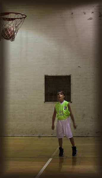 Sarah Basketball