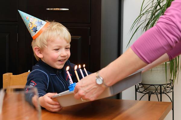 Erik's 4th Birthday 2015