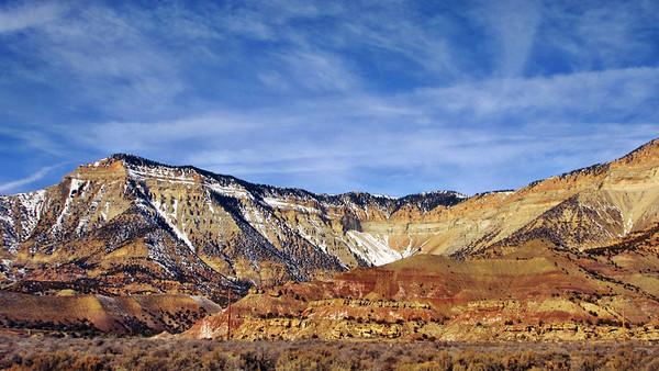 California Zephyr - Green River, Utah, to Glenwood Springs, Colorado