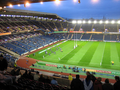2007-Rugby World Cup:Scotland v Romania