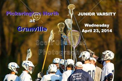 2014 Junior Varsity Pickerington North at Granville (04-23-14)