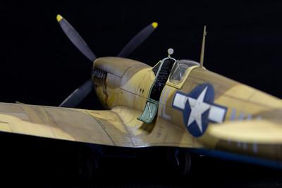 "Tamiya Spitfire Mk VIII ""Lonesome Polecat"""