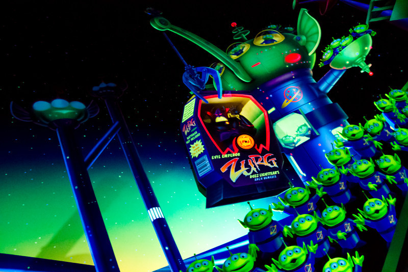 Buzz Lightyer's Astro Blasters Ride