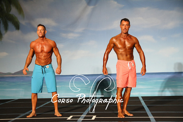 VGC Men's Physique 35 and 45+Prejudging